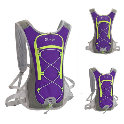 Men Marathon Hydration Vest Pack For Water Sport Bag Cycling  Outdoor