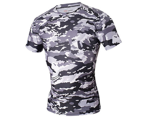 Men Tops Fitness Clothing Shirt  short Sleeve Basketball Jersey