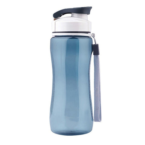 Plastic Water Bottle Simple Design Leak-proof Portable Sports Travel Space