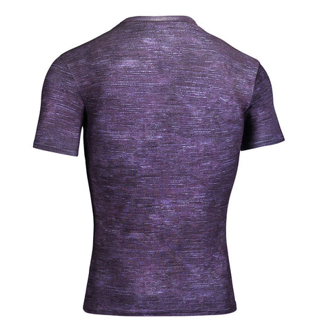 Compression Men Costume Clothes Tops short Sleeve Basketball Jersey Jogging gym sport Yoga suit