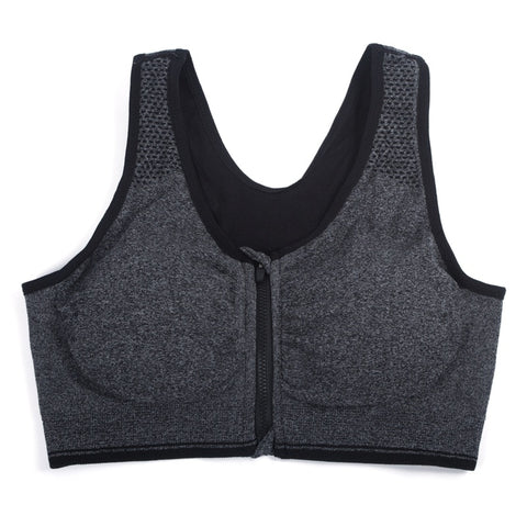 Shockproof Breathable Compression Sports Bra Push Up Padded