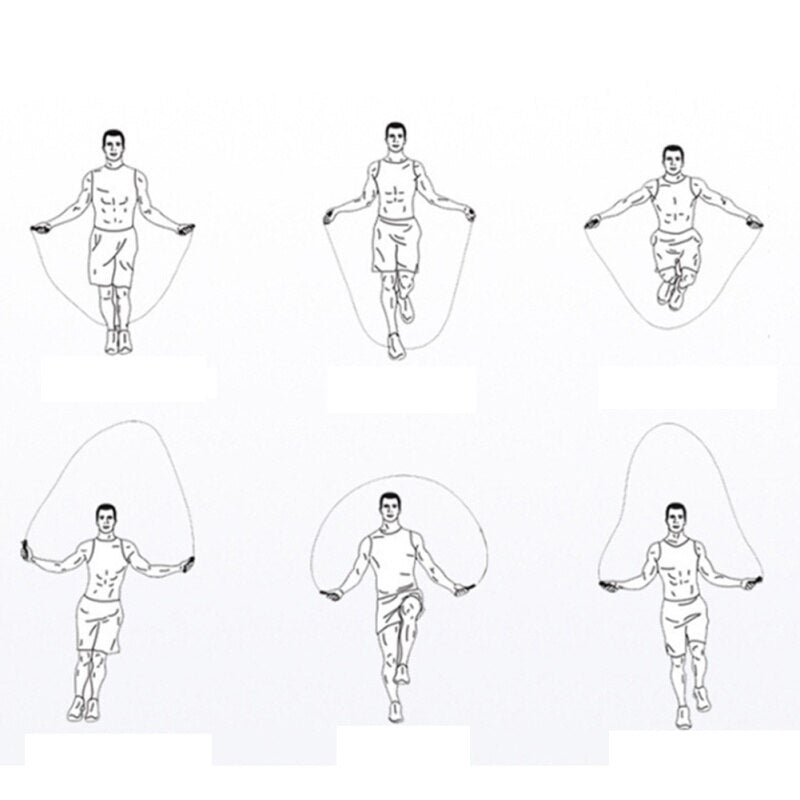 Outdoor sports skipping special exercise training bearing rubber jump rope