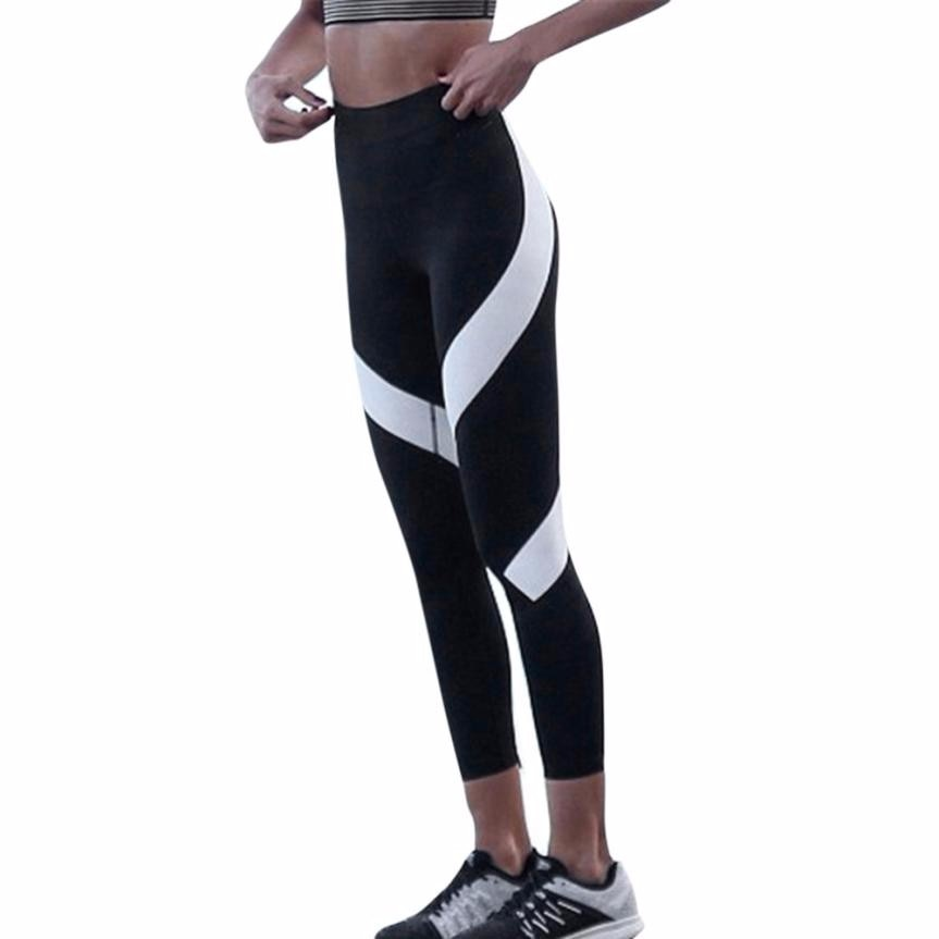 Women Print Fitness Athletic bottoms Workout Sports wear