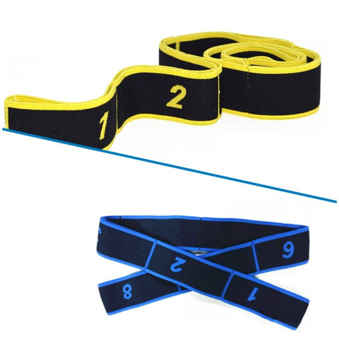 Useful gum for fitness Training Pilates Yoga Stretch Elastic Resistance Bands