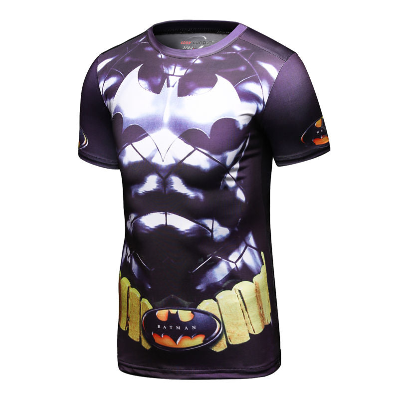 Men Cosplay Tops  For short Sleeve Basketball Jersey Jogging gym sport Yoga suit