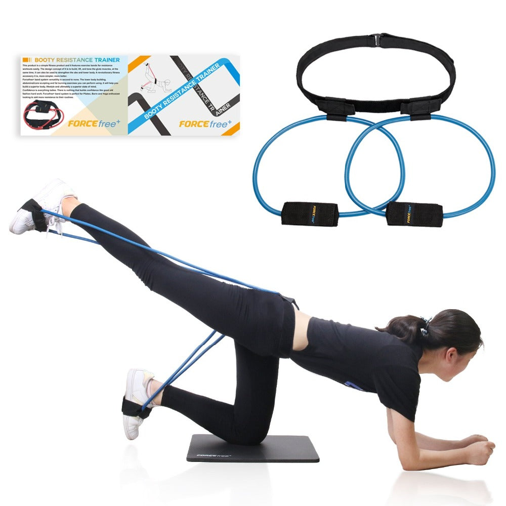 Bands System Workout Resistance Belt Tone Firm and Build Lift Shape