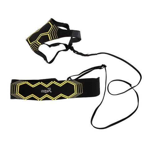 Soccer Training Tied Waist Connecter Elastic Stretch Resistance Band