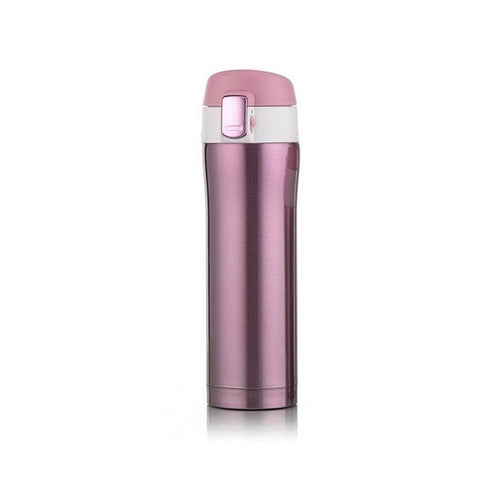 Sports Water Bottle Travel Mug Office Coffee Tea  Stainless Steel Unbreakable Leak-proof Travel Camping