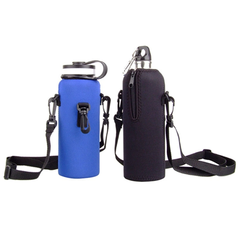 Sports Drink Water Bottle Cover for strap Anti-scald Protector  with Hook