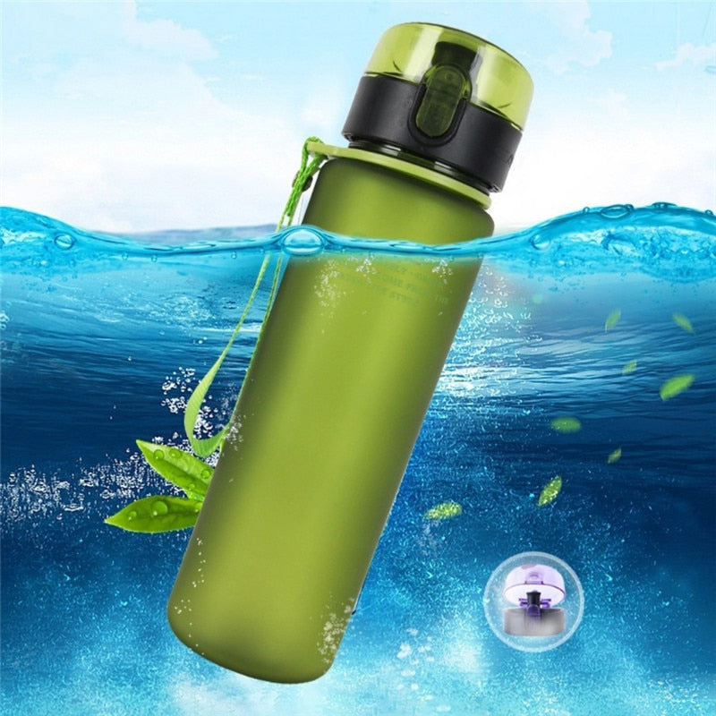 High Quality Portable Water Bottle Sports for Cycling Mountain Bike Travel