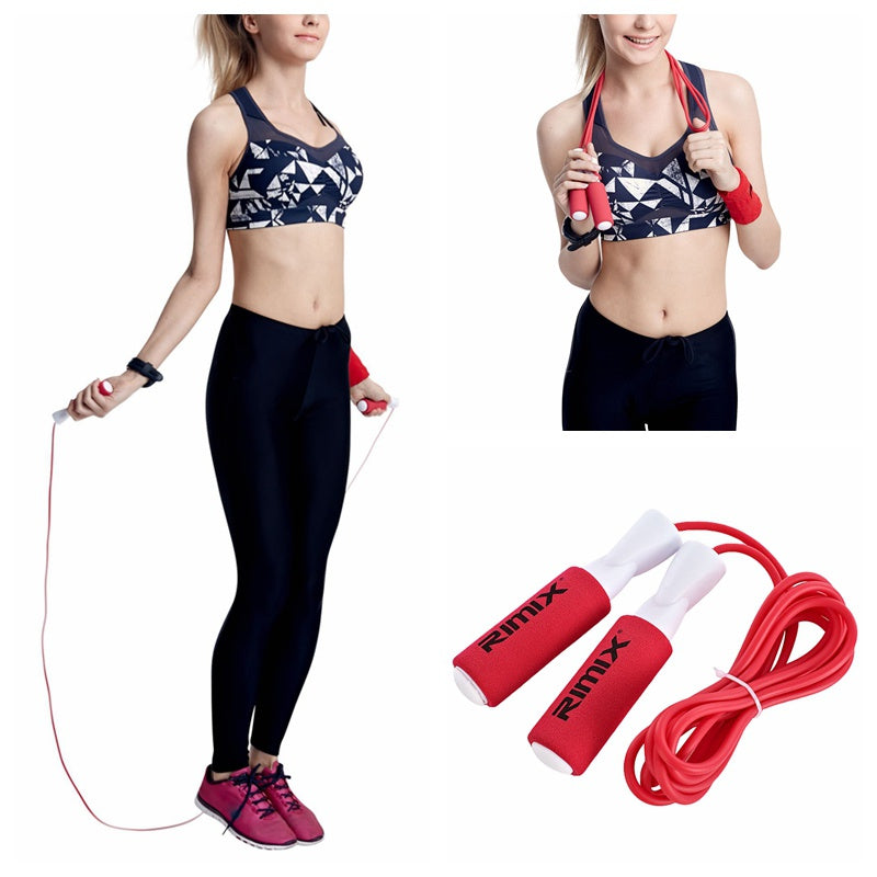 Fitness Sports Jumping Rope Boxing Sports Tool Adjustable Non-slip Foam Handle