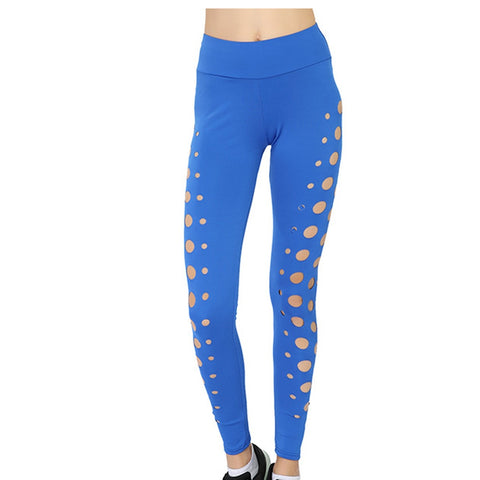 Women High Waist Elastic Athletic bottoms Sports Outdoor Fitness Pants