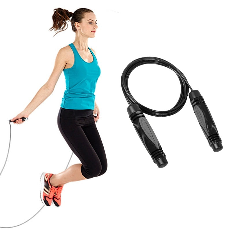 Jump Rope Bearing Skipping Steel Wire Lose Weight Exercise