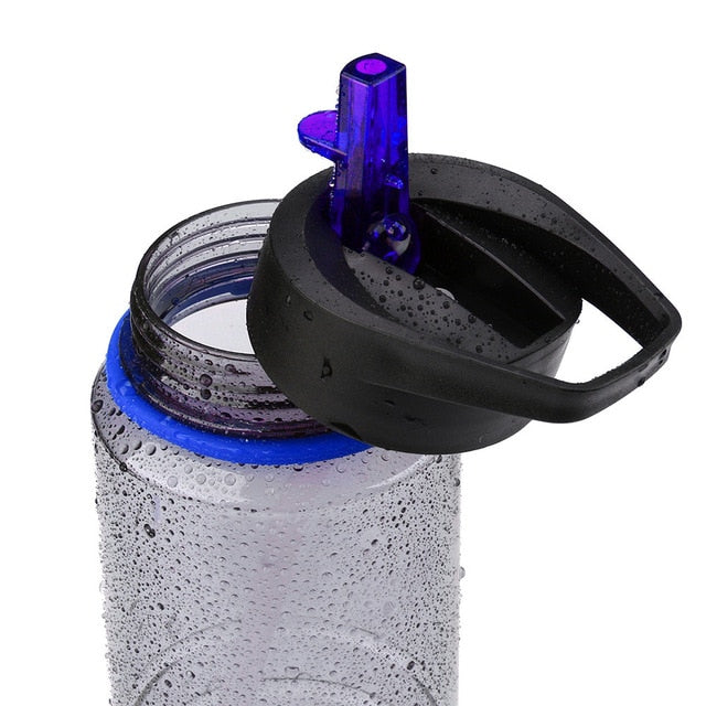 New Arrival Fashion Drinks Sports Hydration Straw Water Bottle Cycling Hiking Bicycle