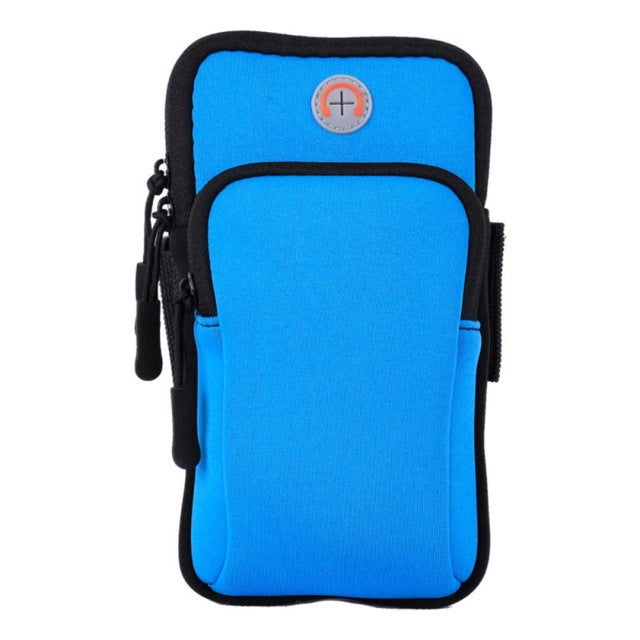 Outdoor Sport bags Workout Running Arm Multi-functional Waterproof cell phone pockets with Earphone