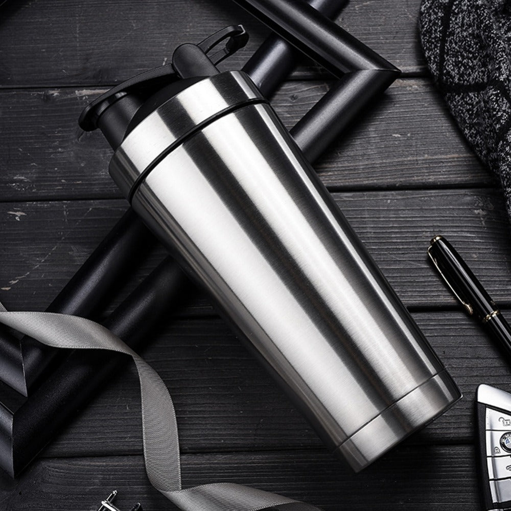 Portable New Stainless Steel Vacuum Insulation Fitness Sports Water Bottle
