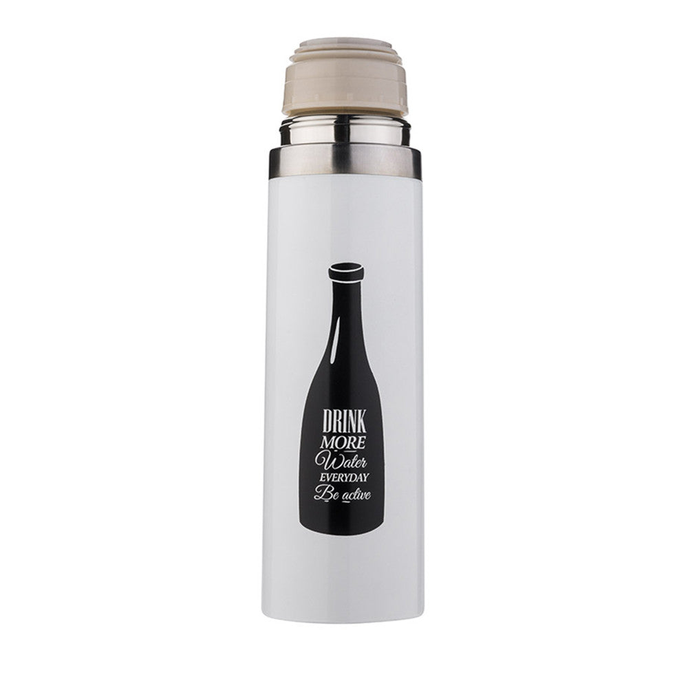 Summer Sports Cycling Camping Portable Stainless Steel Vacuum Flask Thermos Travel Water Bottle