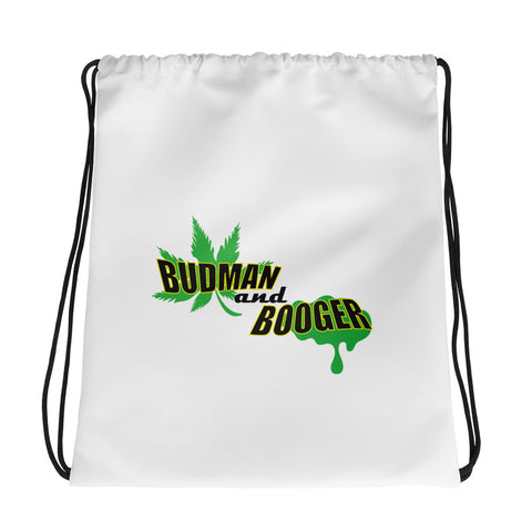 Budman and Booger | drawstring bag