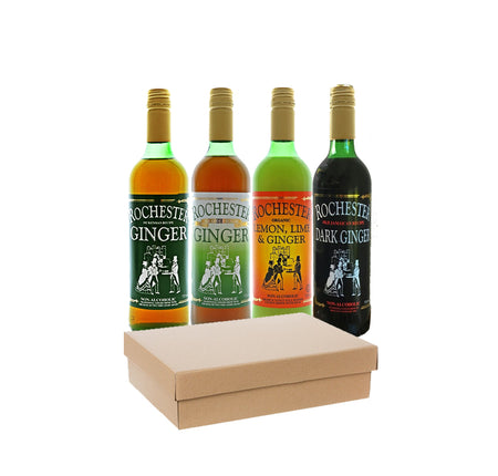 Rochester Ginger - Four bottle gift pack