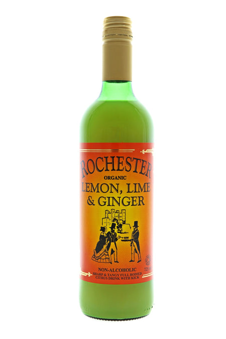 Rochester Organic Lemon Lime & Ginger