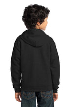 Load image into Gallery viewer, Gildan Youth Heavy Blend Full-Zip Hooded Sweatshirt. 18600B