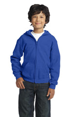 Gildan® Youth Heavy Blend™ Full-Zip Hooded Sweatshirt. 18600B