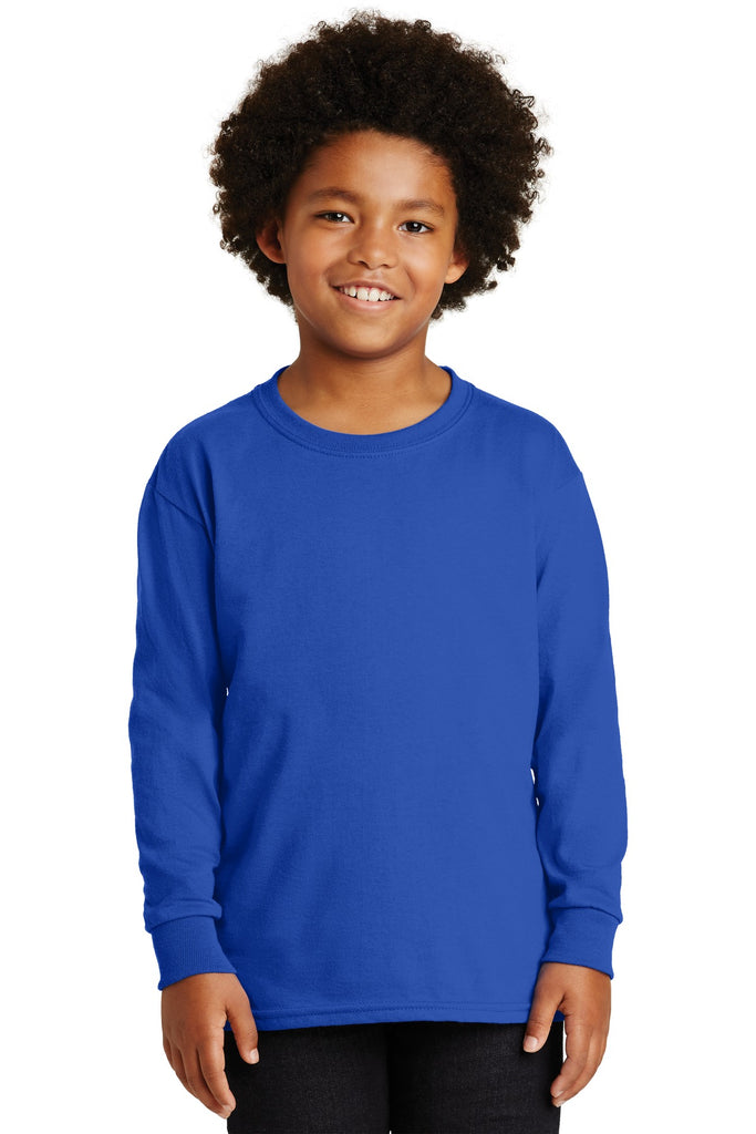 Gildan® - Youth Ultra Cotton® Long Sleeve T-Shirt.  2400B