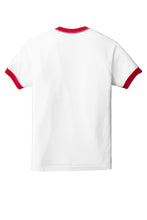 Load image into Gallery viewer, American Apparel  Fine Jersey Ringer T-Shirt. 2410W
