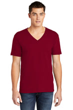 Load image into Gallery viewer, American Apparel  Fine Jersey V-Neck T-Shirt. 2456W