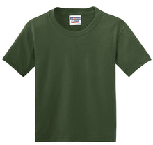 Load image into Gallery viewer, JERZEES - Youth Dri-Power 50/50 Cotton/Poly T-Shirt.  29B