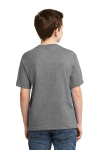 JERZEES - Youth Dri-Power 50/50 Cotton/Poly T-Shirt.  29B