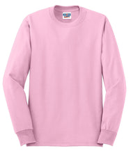 Load image into Gallery viewer, JERZEES - Dri-Power 50/50 Cotton/Poly Long Sleeve T-Shirt.  29LS