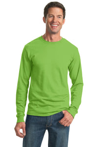 JERZEES - Dri-Power 50/50 Cotton/Poly Long Sleeve T-Shirt.  29LS