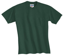 Load image into Gallery viewer, JERZEES -  Dri-Power 50/50 Cotton/Poly Pocket T-Shirt.  29MP