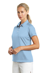 Nike Ladies Dri-FIT Pebble Texture Polo. 354064