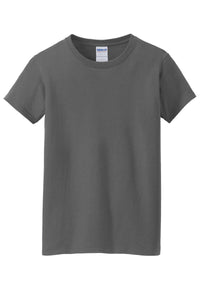 Gildan Ladies Heavy Cotton 100% Cotton T-Shirt. 5000L