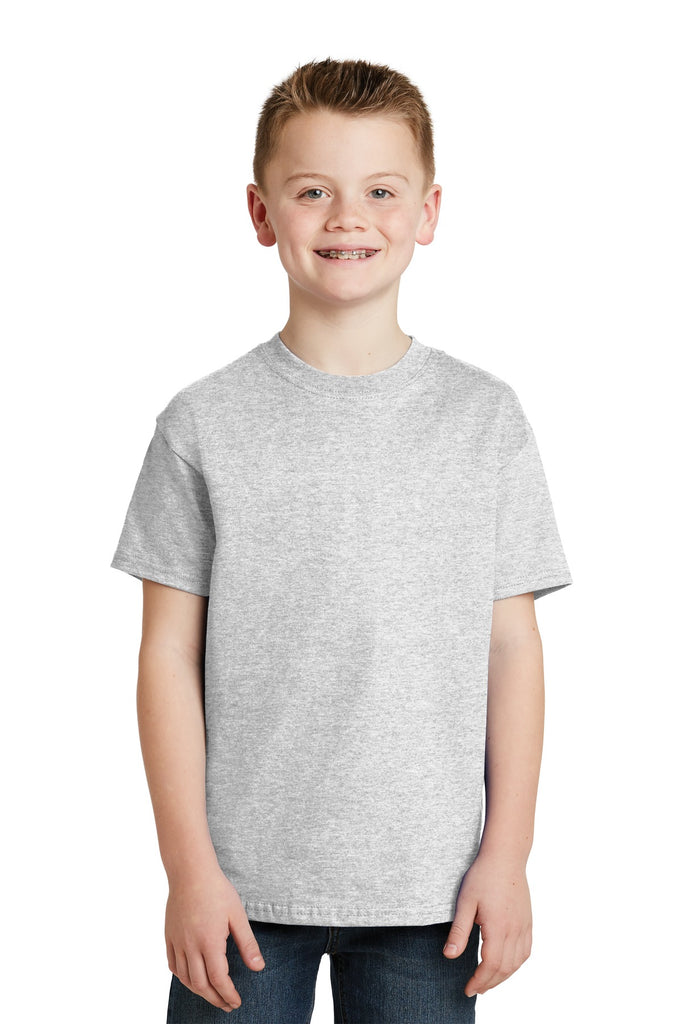 Hanes® - Youth Tagless® 100%  Cotton T-Shirt.  5450