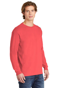 COMFORT COLORS  Heavyweight Ring Spun Long Sleeve Tee. 6014
