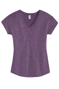 Anvil Ladies Tri-Blend V-Neck Tee. 6750VL