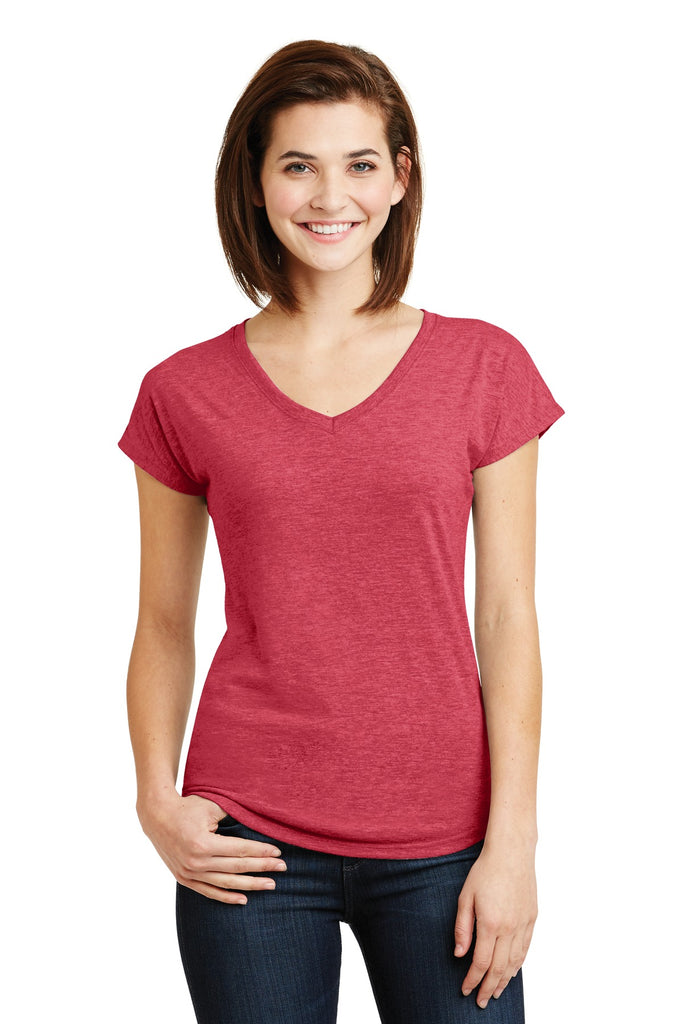 Anvil® Ladies Tri-Blend V-Neck Tee. 6750VL