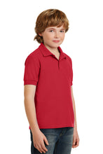 Load image into Gallery viewer, Gildan Youth DryBlend 6-Ounce Double Pique Sport Shirt. 72800B