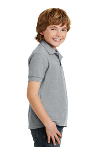 Gildan Youth DryBlend 6-Ounce Double Pique Sport Shirt. 72800B