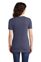 Load image into Gallery viewer, JERZEES  Ladies Snow Heather Jersey V-Neck T-Shirt 88WV