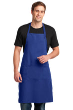 Load image into Gallery viewer, Port Authority Easy Care Extra Long Bib Apron with Stain Release. A700