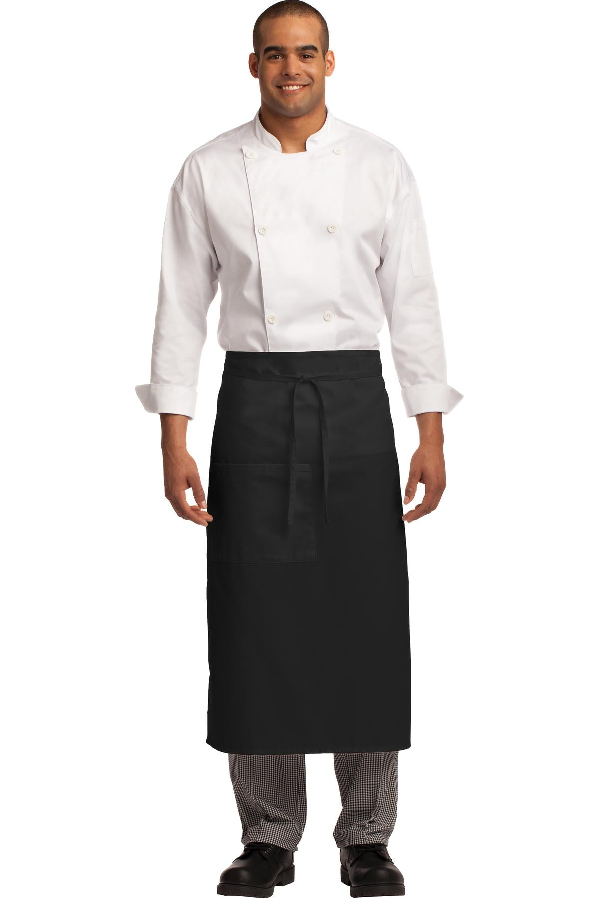 Port Authority Easy Care Full Bistro Apron with Stain Release. A701