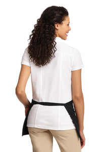Port Authority Easy Care Reversible Waist Apron with Stain Release. A707