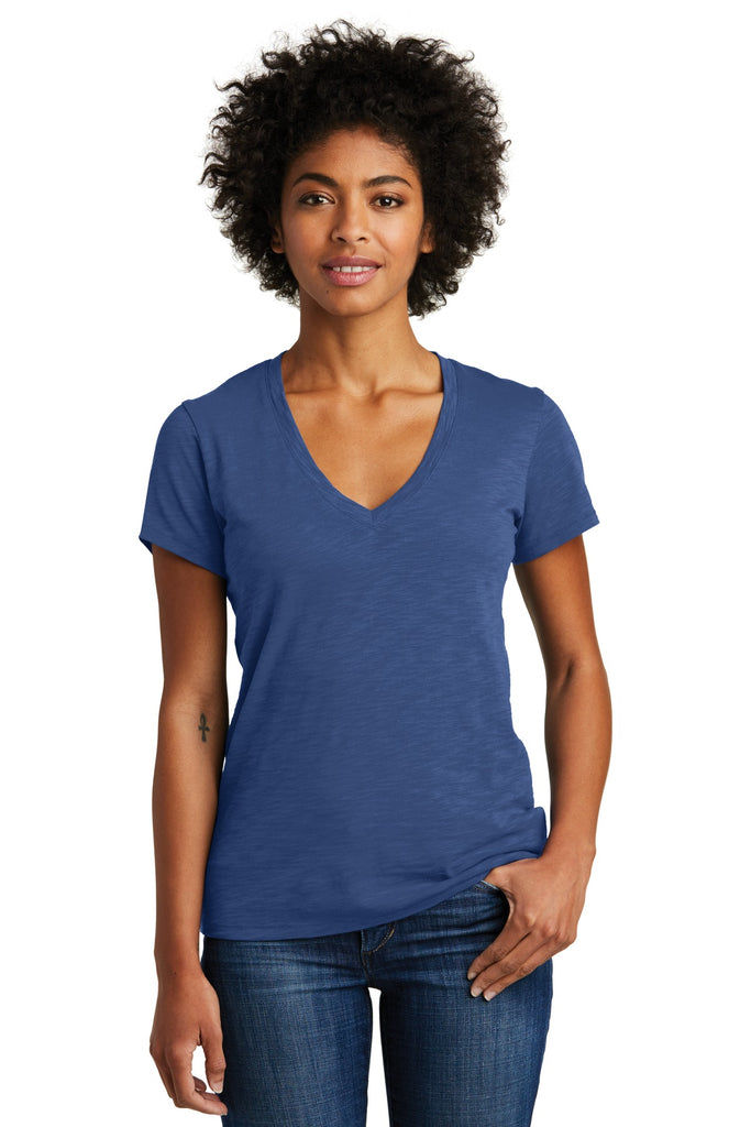 Alternative Weathered Slub So-Low V-Neck Tee. AA6097