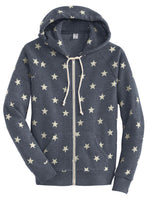 Load image into Gallery viewer, Alternative Women's Adrian Eco -Fleece Zip Hoodie. AA9573