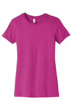 Load image into Gallery viewer, BELLA+CANVAS  Women's The Favorite Tee. BC6004