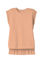 Load image into Gallery viewer, BELLA+CANVAS  Women's Flowy Muscle Tee With Rolled Cuffs. BC8804
